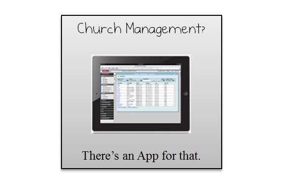 church management software for the iPad